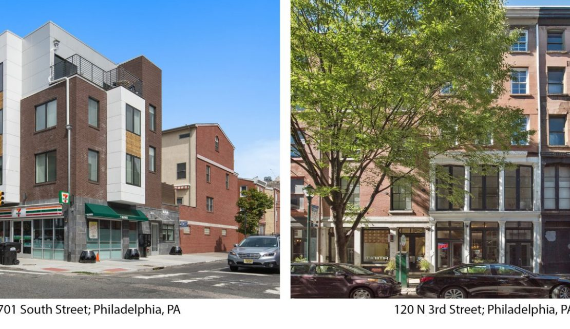 RRA Sells 2 Mixed-Use Properties in Center City, Philadelphia Totaling $6,225,000