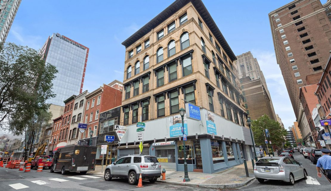 RRA SELLS MIXED-USE BUILDING ON ICONIC JEWELER'S ROW IN PHILADELPHIA FOR $5,770,000