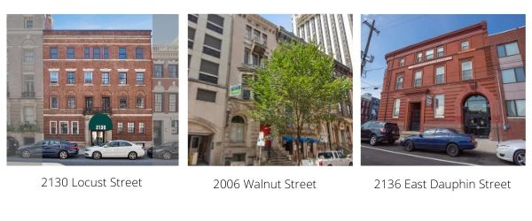 RRA CLOSES THREE CENTER CITY, PHILADELPHIA BOUTIQUE BUILDINGS TOTALING $10,875,000